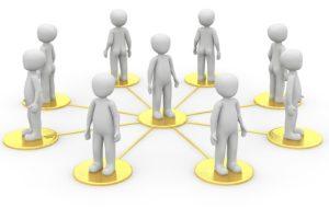 Participanten, netwerkleiders en coalitieleiders