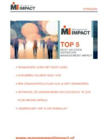 Whitepaper: Top 5 beste managementartikelen