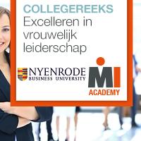 Collegereeks Excelleren in vrouwelijk leiderschap