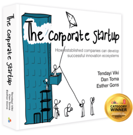 De Corporate Startup wint CMI prijs voor innovatie en ondernemerschap