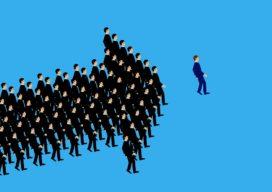 Een leider bestaat bij de gratie van volgers