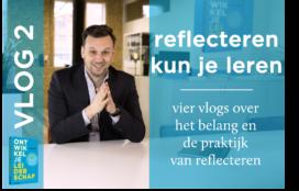 Video: Reflecteren kun je leren met Joël Aerts