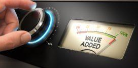 De elementen van geleverde waarde