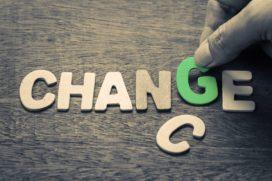Zeg ja tegen veranderen om het veranderen