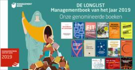 Veertien boeken van Vakmedianet op longlist voor Managementboek van het Jaar