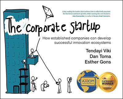 Het boek: The Corporate Startup