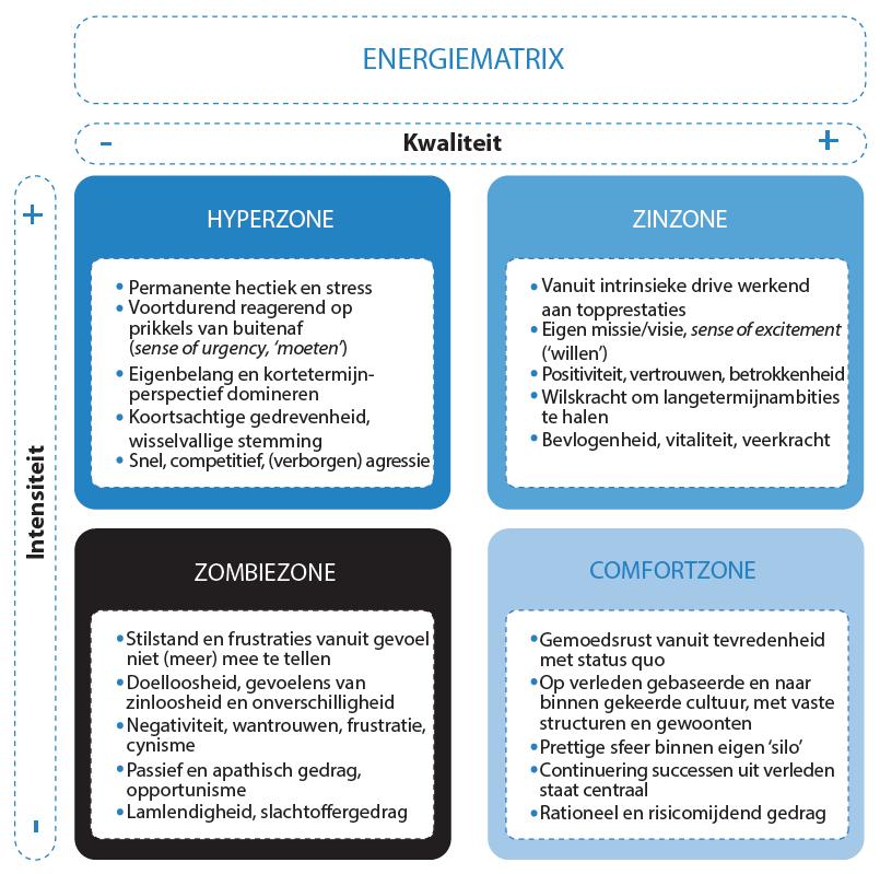 Figuur 3: energiematrix Van der Loo