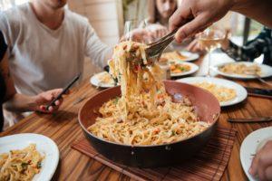 Over het veranderen van pastasaus