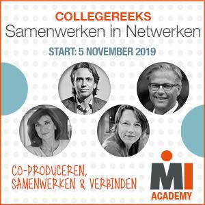 Collegereeks Samenwerken in netwerken