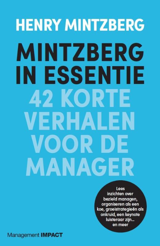 Mintzberg in essentie