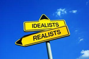 De paradox van idealisme en realisme