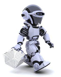 De robot is voor winkels een manier om iedere klant een personal shopper te geven