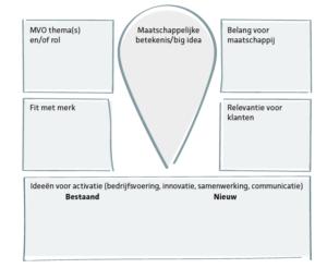 Figuur 17.2 Springboard voor het ontwikkelen van de maatschappelijke betekenis