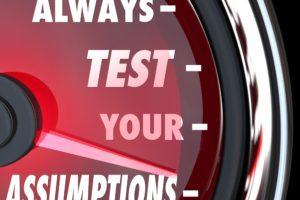 De Key Assumptions Test