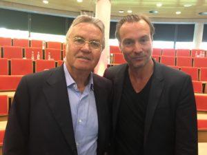 Guus Hiddink en Bas Kodden