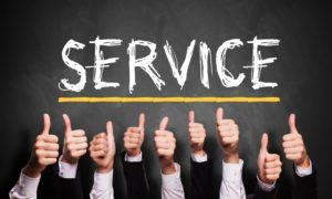 Klanten moeten kunnen terugvallen op goede service